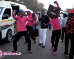 رسم عجیب و غریب جوانان آفریقای جنوبی + تصاویر