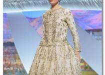 لباس 180 ساله بر تن «لیلا حاتمی» در کن + عکس
