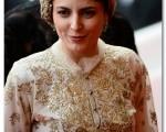 لباس ۱۸۰ ساله بر تن «لیلا حاتمی» در کن + عکس