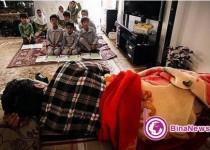 آموزگار فداکار روستای سنجگان قم/عکس