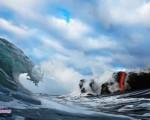 تصاویری ترسناک از توریستیترین جزیره جهان