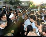 حضور رییسجمهور در جمع مردم/تصاویر
