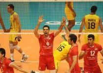 ایران پرافتخارترین تیم والیبال جهان را شکست داد