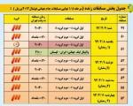 جدول پخش بازیهای جامجهانی از تلویزیون