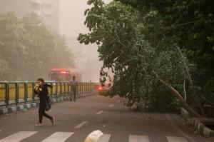 هشدار سازمان هواشناسی نسبت به وزش مجدد باد شدید در تهران