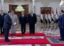 دولت جدید مصر سوگند خورد