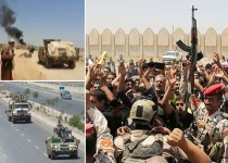 عملیات ارتش علیه تروریستها در موصل و تکریت/ منع آمد و شد در غرب الانبار