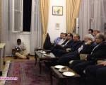 روحانی و جواد ظریف هم مسابقه تیم ملی را تماشا کردند/۲عکس