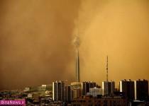 تصاویر طوفان امروز در تهران/10عکس