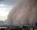 تصاویر طوفان امروز در تهران/۱۰عکس