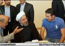حاشیههای ضیافت افطار روحانی با ورزشکاران/ 16عکس