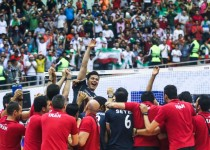 والیبال ایران به نیمه نهایی لیگ جهانی رسید/ایران 3 - برزیل 1