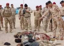 دهها تروريست داعش در عراق به هلاکت رسیدند