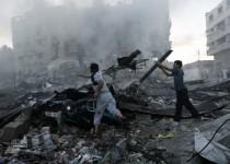 شمار شهدای غزه به 826 تن رسید