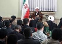 دیدار اصحاب رسانه با هاشمی رفسنجانی