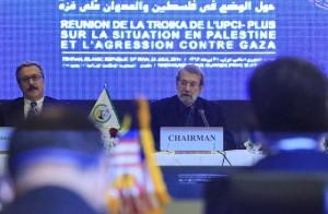 لاریجانی: پارلمانهای اسلامی ملتهای مسلمان را برای دفاع از فلسطین متحد کنند