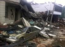 صدها کشته در زمینلرزه چین/اعزام نیروهای نظامی به مناطق زلزلهزده