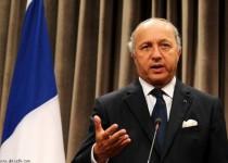 فابیوس: حق اسرائیل در تامین امنیتش کشتار غزه را توجیه نمیکند