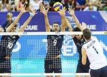 شکست تیم ملی والیبال ایران برابر آمریکا