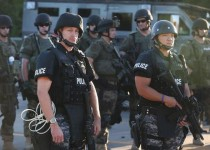 انتقاد دیدهبان حقوق بشر از خشونت پلیس فرگوسن علیه معترضان