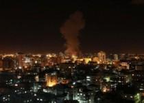 تداوم حملات صهیونیستها به غزه و پاسخ مقاومت