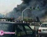 سقوط هواپیمای مسافربری در مهرآباد تهران