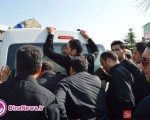 وداع مردم اورمیه با ۲۹ شهید گمنام و تشییع ۲ سرباز شهید/تصاویر