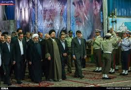 تجدید میثاق رئیسجمهور و اعضای دولت با آرمانهای امام(ره)