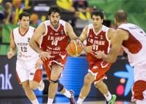 ایران، نخستین تیم پیروز آسیایی در جام جهانی بسکتبال