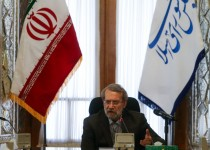 علی لاریجانی: جیغ بنفش آمریکا و انگلیس در مقابل تروریستم دروغ است
