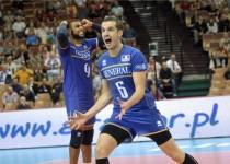 والیبال فرانسه ایران را به یک قدمی نیمه نهایی رساند!