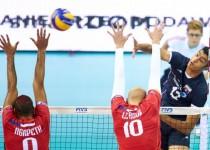 نیاز والیبال ایران به سه ست 25-19 برابر فرانسه