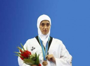 سوسن حاجی پور به مدال برنز رسيد