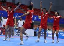 تیم ملی کبدی مردان هم به مدال نقره رسید
