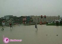 باران بارید، ارومیه را آب برد / 8عکس