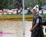 باران بارید، ارومیه را آب برد / ۸عکس