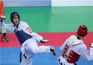 مهدی خدابخشی ،دومين طلای تکواندو را کسب کرد