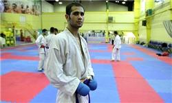 سعید حسنی پور در کاراته طلايی شد