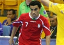 اصغر حسن زاده بهترین بازیکن فوتسال آسیا در سال ۲۰۱۴ شد