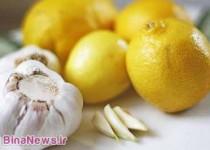 درمان طبیعی گرفتگی رگهای قلبی و چربی خون بالا با معجون سیر و لیمو