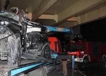 تصادف مرگبار شاسیبلندها در تهران/5عکس