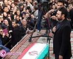 بازیگران و هنرمندان در مراسم تشییع مرتضی پاشایی/۱۲عکس
