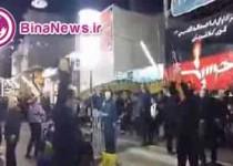 عزاداری برای امام حسین(ع) یا رقص دستهجمعی؟/فیلم