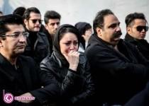 بازیگران و هنرمندان در مراسم تشییع مرتضی پاشایی/12عکس