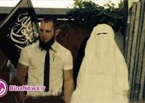این عروس تروریست زنان جهان را به نکاح با داعش دعوت می کند