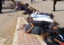 پنهان شدن زیر جنازه ها و نجات از دست داعش