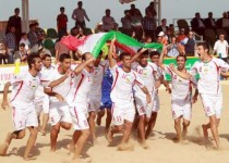 ایران قهرمان فوتبال ساحلی آسیایی شد