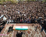 تشییع پیکر مرتضی پاشایی/ تصاویر