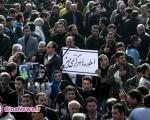 وداع با شکوه مردم با غلامحسین مظلومی/تصاویر