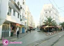 خیابان ایران در تونس/عکس